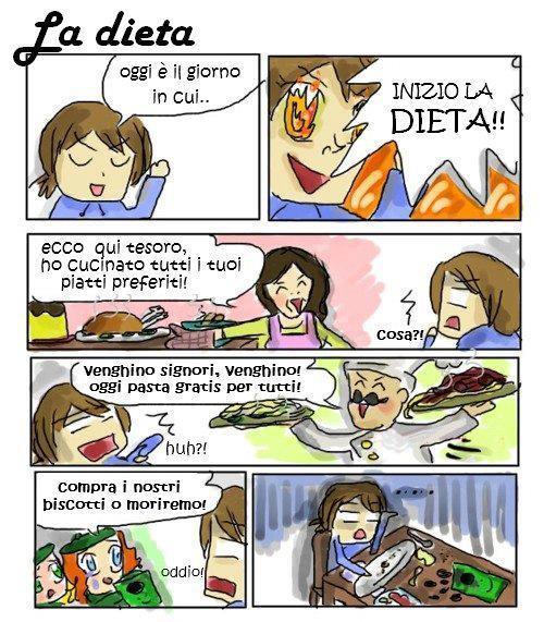 La dieta...