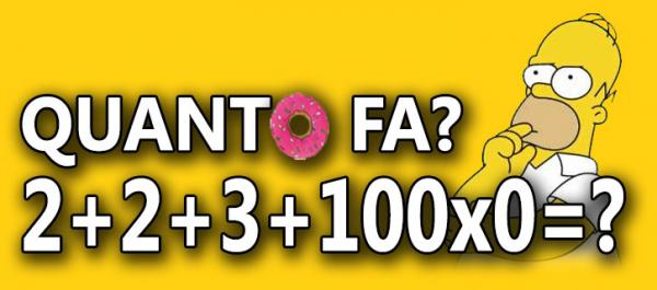 Quiz matematico...