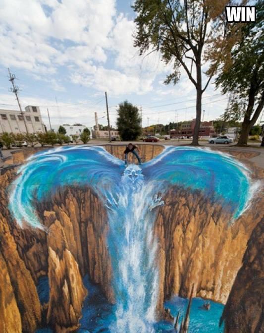 Street-Art - Aquila d'acqua...