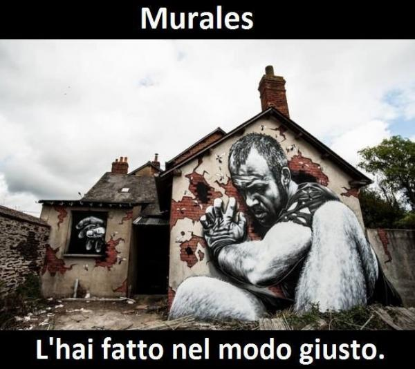 Street-Art - Murales giganti...