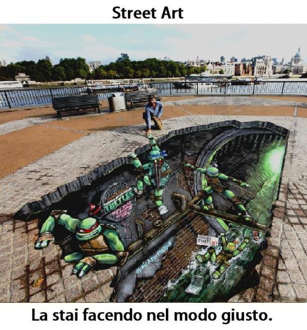 Street-Art - Ninja turtles...