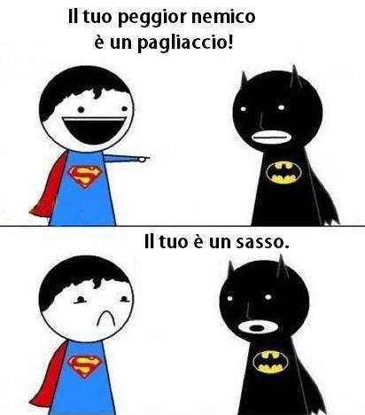 Superman vs. Batman...