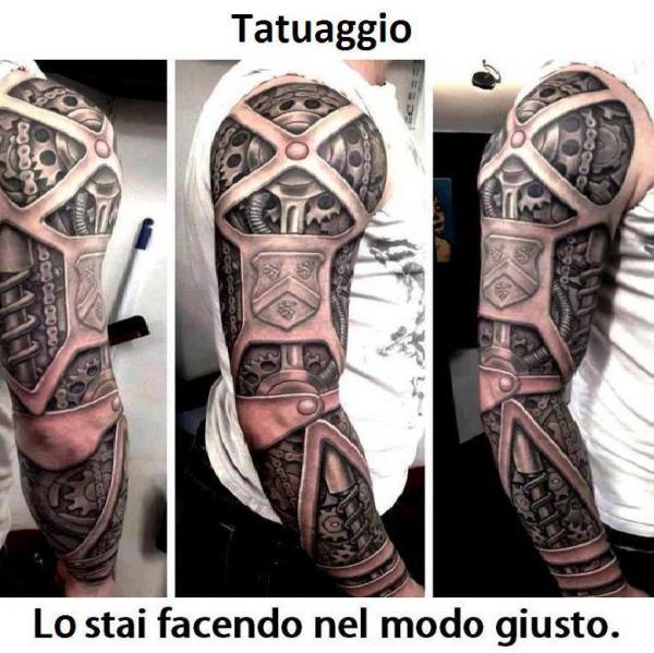 Tatuaggio spettacolare!