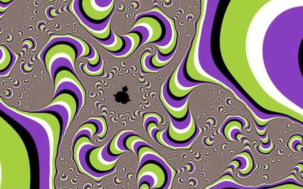 Illusioni ottiche - Gelatina semovente...