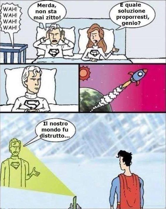 La vera storia di Superman...