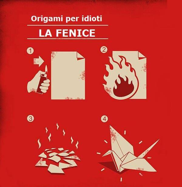 Origami per idioti...