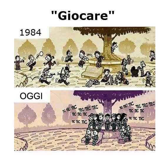 L'evoluzione del gioco...