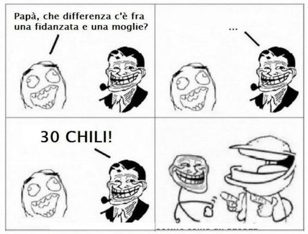 Differenze sostanziali...