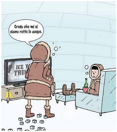 Intanto al Polo Nord...