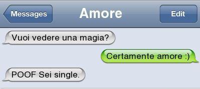 L'amore è magia...