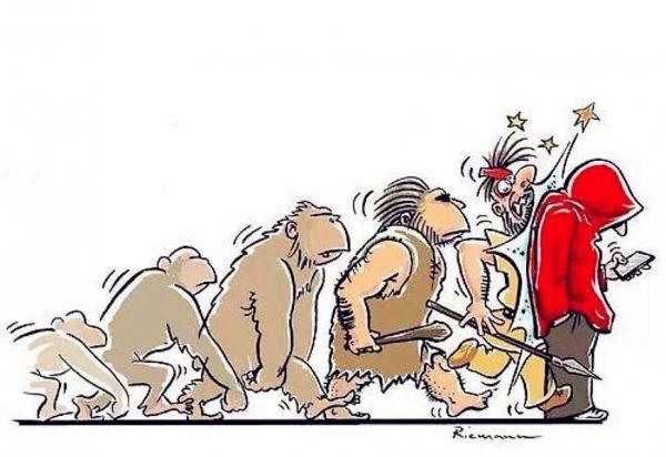L'evoluzione...