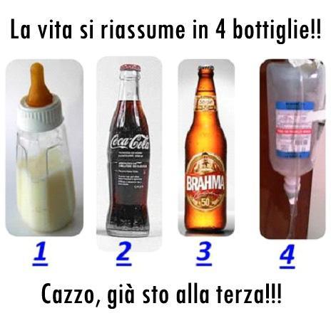 La vita in bottiglie…