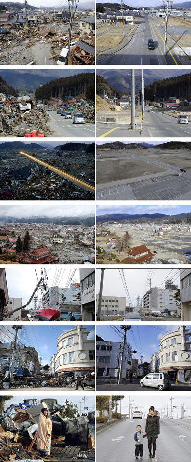 Giappone un anno dopo il terremoto.