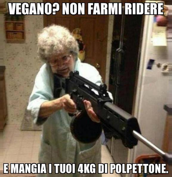 Mai sfidare le nonne...