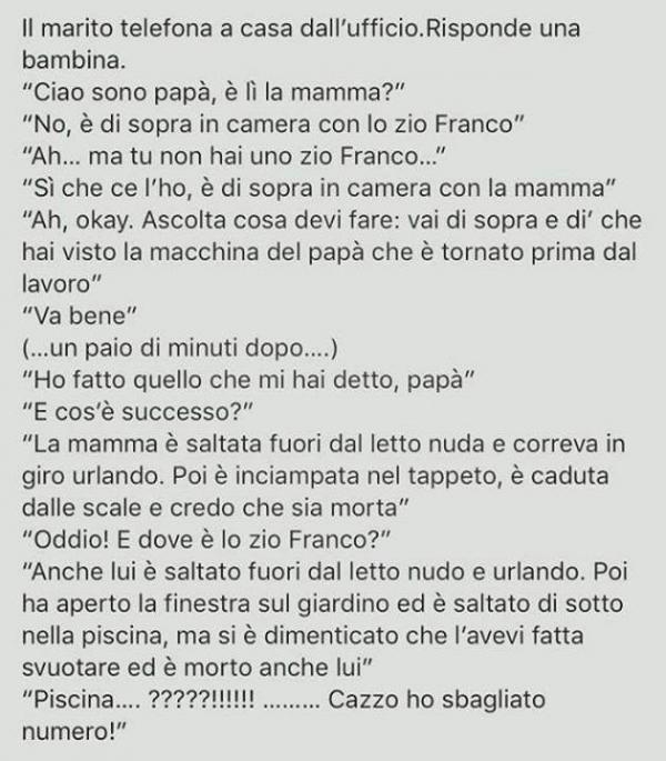 Hahahahaha!! Bellissima!! :D :D :D