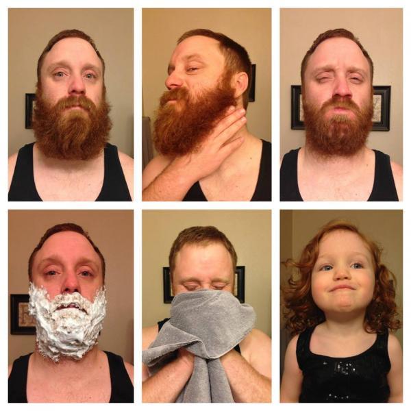 Barba... Prima e Dopo...