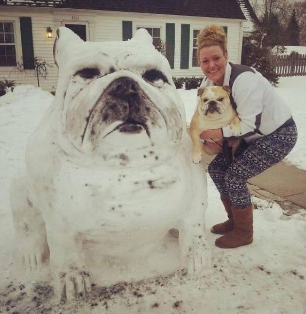 Pupazzo di neve… Lo hai fatto bene…