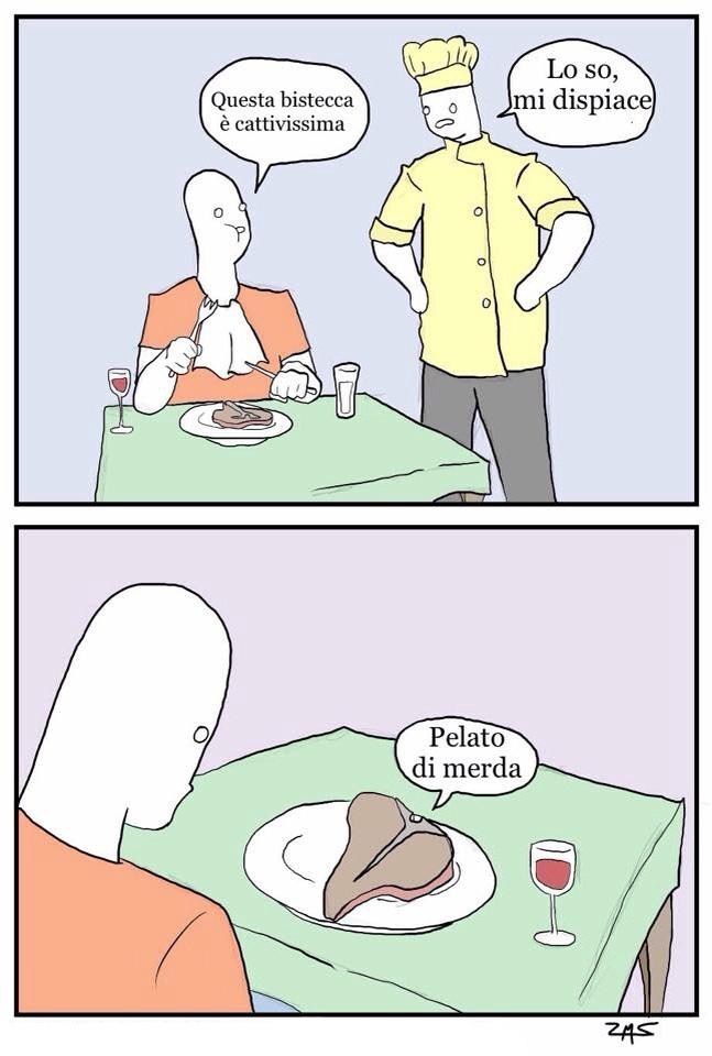 Al ristorante...