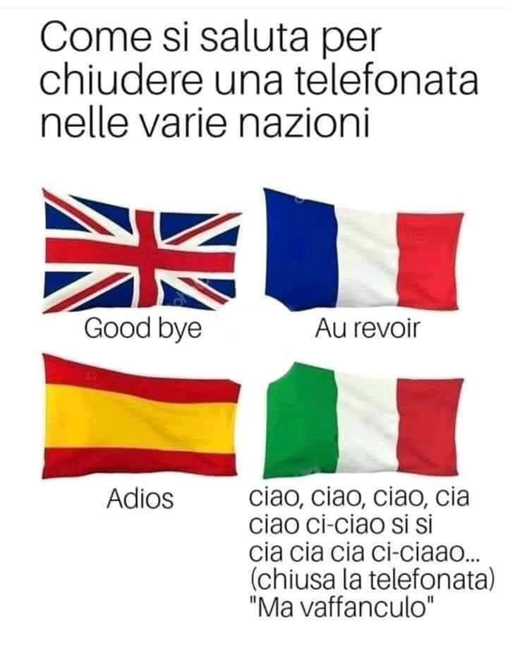 Italians do it better...